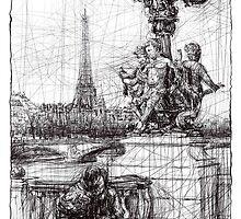 Paris 7 by Tatiana Ivchenkova