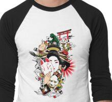I Dream of Japan Men's Baseball ¾ T-Shirt