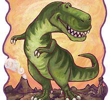 Animal Parade Tyrannosaurus by ImagineThatNYC