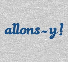 Allons-y! Kids Clothes