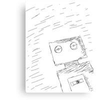 Hello Robot Canvas Print