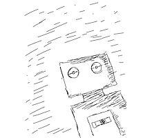 Hello Robot Photographic Print