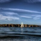 Sailing past Alderney by NeilAlderney