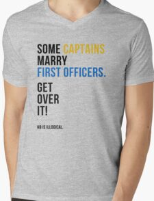 some captains marry first officers Mens V-Neck T-Shirt