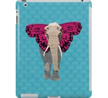 Elephant Butterfly iPad Case/Skin