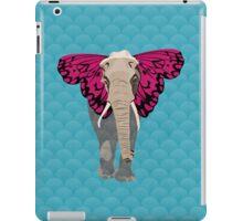 Elephant Butterfly iPad Case/Skin