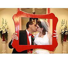 FRAMED KISS Photographic Print
