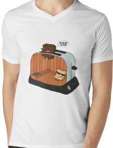 Toaster Sauna Mens V-Neck T-Shirt