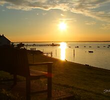 Yarmouth Sunset by Jonathan Cox
