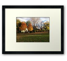 Two Giants and a Kid Framed Print