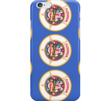 Smartphone Case - State Flag of Minnesota - Vertical II iPhone Case/Skin
