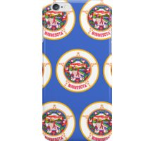 Smartphone Case - State Flag of Minnesota - Horizontal II iPhone Case/Skin