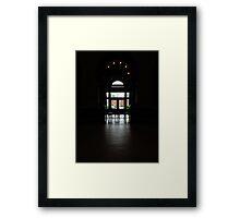 Enchanting Silhouette Framed Print