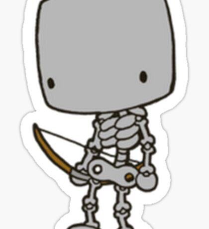 Minecraft Skeleton Sticker