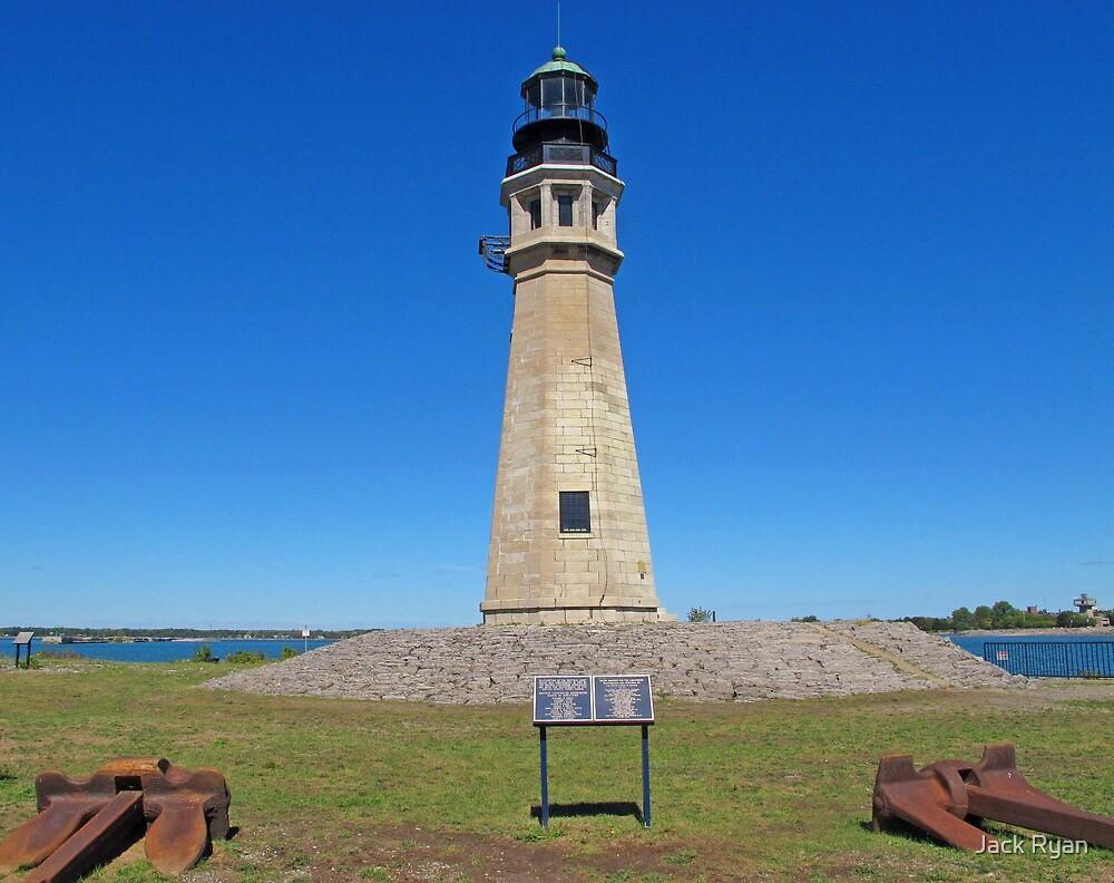 Buffalo Main Lighthouse by Jack Ryan