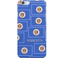 Smartphone Case - State Flag of Minnesota - Horizontal III iPhone Case/Skin