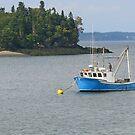 Waiting In Lubec Harbor by Jack Ryan