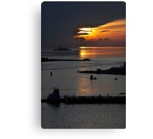 Miami Sunrise Canvas Print