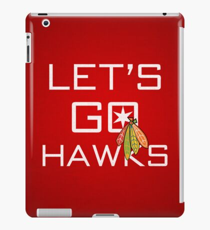 Let's Go Hawks iPad Case/Skin