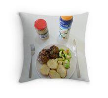 Botham Burgers Throw Pillow