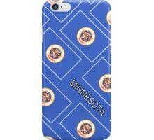 Smartphone Case - State Flag of Minnesota - Diagonal iPhone Case/Skin