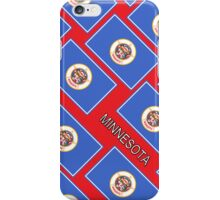 Smartphone Case - State Flag of Minnesota - Diagonal II iPhone Case/Skin