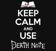 Death Note - Keep Calm by maaiiccoo