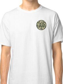 Weed pattern 55 logo Classic T-Shirt