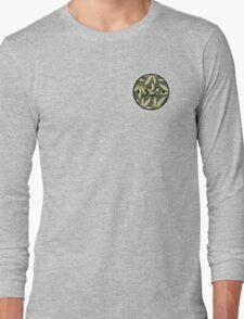Weed pattern 55 logo Long Sleeve T-Shirt