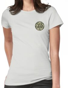 Weed pattern 55 logo Womens Fitted T-Shirt