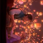 Rapunzel and Flynn Rider from Tangled by libbbyr