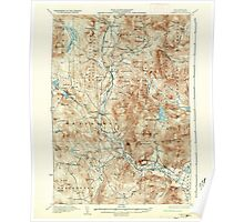 USGS TOPO Map New Hampshire NH Rumney 330329 1932 62500 Poster
