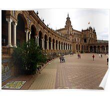 El Real Alcazar ( Plaza de España ) Poster