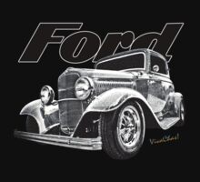 32 Ford Coupe T-Shirt by ChasSinklier
