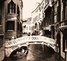 Streets of Venice by Timothy L. Gernert