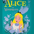 Vintage Alice In Wonderland Poster by libbbyr