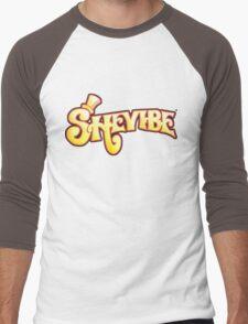 SheVibe Logo - Wonka Style Men's Baseball ¾ T-Shirt