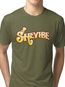 SheVibe Logo - Wonka Style Tri-blend T-Shirt