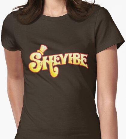 SheVibe Logo - Wonka Style Womens Fitted T-Shirt