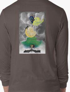 Gallifreyan moon Long Sleeve T-Shirt