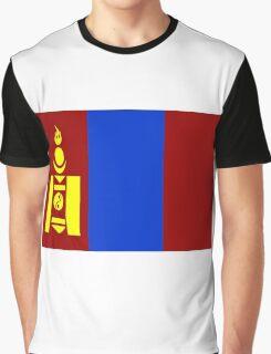 Flag of Mongolia Graphic T-Shirt