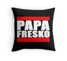 PAPA FRESKO RUN DMC STYLE Throw Pillow