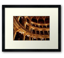 Budapest - The Walls - Hungarian State Opera House  Framed Print