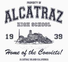 Alcatraz High School One Piece - Short Sleeve