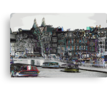 Amsterdam 10 Canvas Print