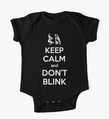 Weeping Angels Keep Calm One Piece - Short Sleeve