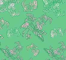 Green Currant Pattern by rusanovska