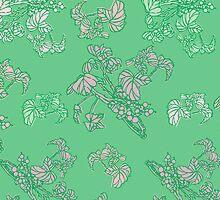 Green Currant Pattern by rusanovska
