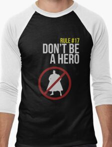 Zombie Survival Guide - Rule #17: Don't Be A Hero T-Shirt