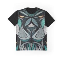 Abstract Lion Graphic T-Shirt